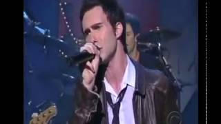Maroon 5 - Harder to Breathe - Late Show with David Letterman 2003