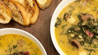 The Chronicles of the Cast Iron Chef MINISODE 1: Spicy Zuppa Toscana Soup