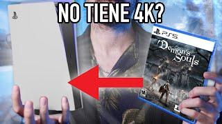 PlayStation 5 NO CORRE bien sus PROPIOS JUEGOS según muchos. Demon's Souls y 4K Falso? - Potencia