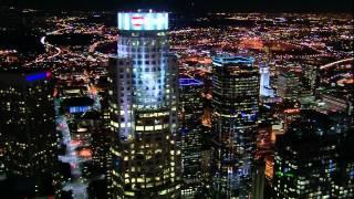 Los Angeles night flight (Los Santos GTA5)