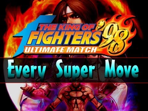 KOF 98 UM - All SDM Super Moves The King of Fighters '98: Ultimate Match