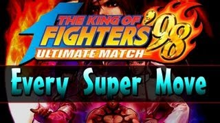 KOF 98 UM - All SDM Super Moves