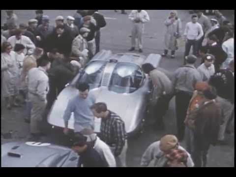 Corvette Wins National Champion Sports Car Championship Race 1960