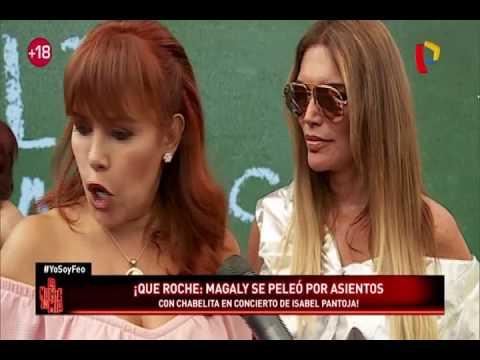 Magaly Medina tuvo altercado con hija de Isabel Pantoja en concierto (1/2)
