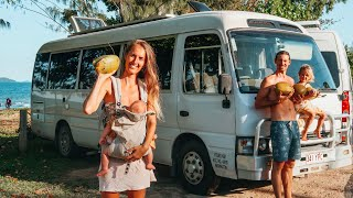 DAY IN THE LIFE: Tropical Winter Living In A Bus🌴