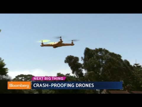 Game of Drones: Testing World's 'Crash-Proof' Drone