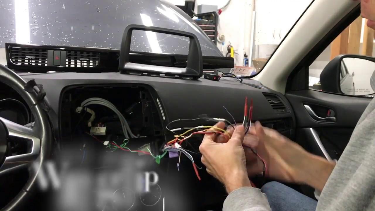 Mazda Cx5 Custom Radio Install Youtube