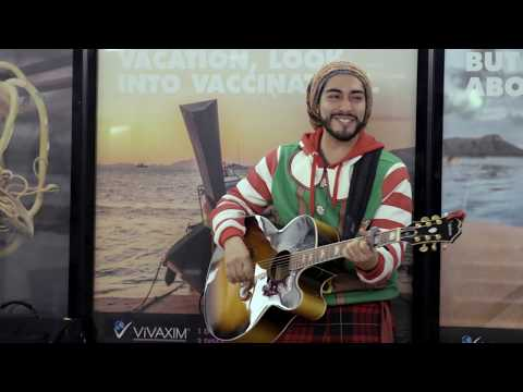 Mark -  SUBWAY MUSICIAN STUNNED BY SWEET CHRISTMAS PAYDAY