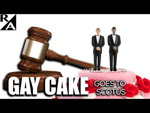 Right Angle - Gay Cake Goes To SCOTUS - 12/06/17