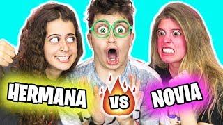 HERMANA vs NOVIA!! **SE ENFADAN** (Quién me conoce mejor? - Inés vs Laia Oli)