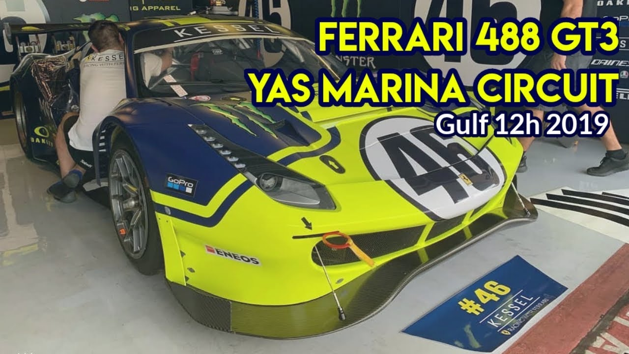 Valentino Rossi Race at Gulf 12 Hours in Yas Marina Circuit | Live Streaming Link