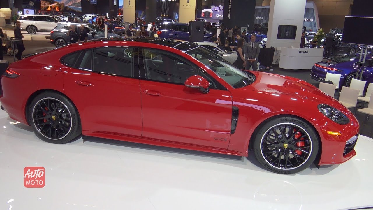 2020 Porsche Panamera Gts Exterior And Interior Walkaround 2019 Toronto Auto Show Youtube