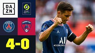 Ander Herrera mit Doppelpack bei Schützenfest: PSG - Clermont 4:0   Ligue 1   DAZN