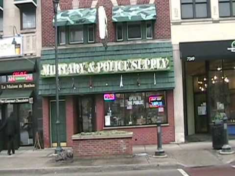 Madison Ave. Forest Park Il. A Walking Tour of Shops &  Restraunts