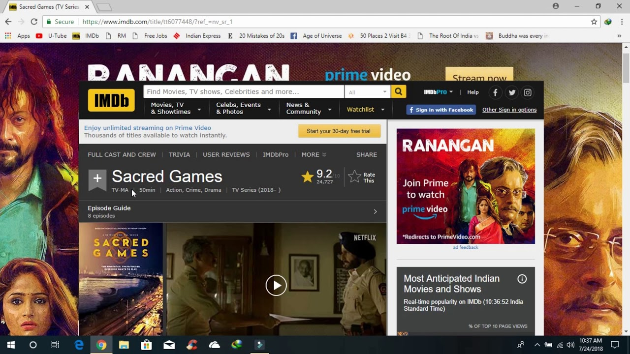 How to Download Sacred Games (2018) Netflix for FREE Easily