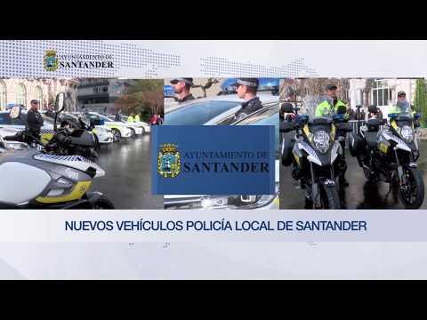 Nuevos vehículos Policía Local de Santander
