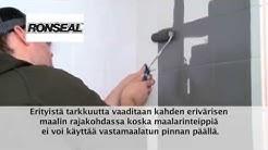 Ronseal Kaakelimaali - työohje