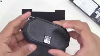 Altec Lansing Mini H2O Waterproof Bluetooth Wireless Speaker Unboxing & Review