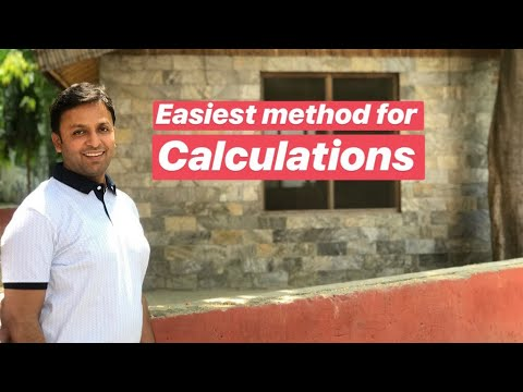 How to do calculation easily .