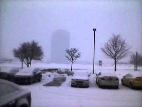 Thunder Snow in Detroit