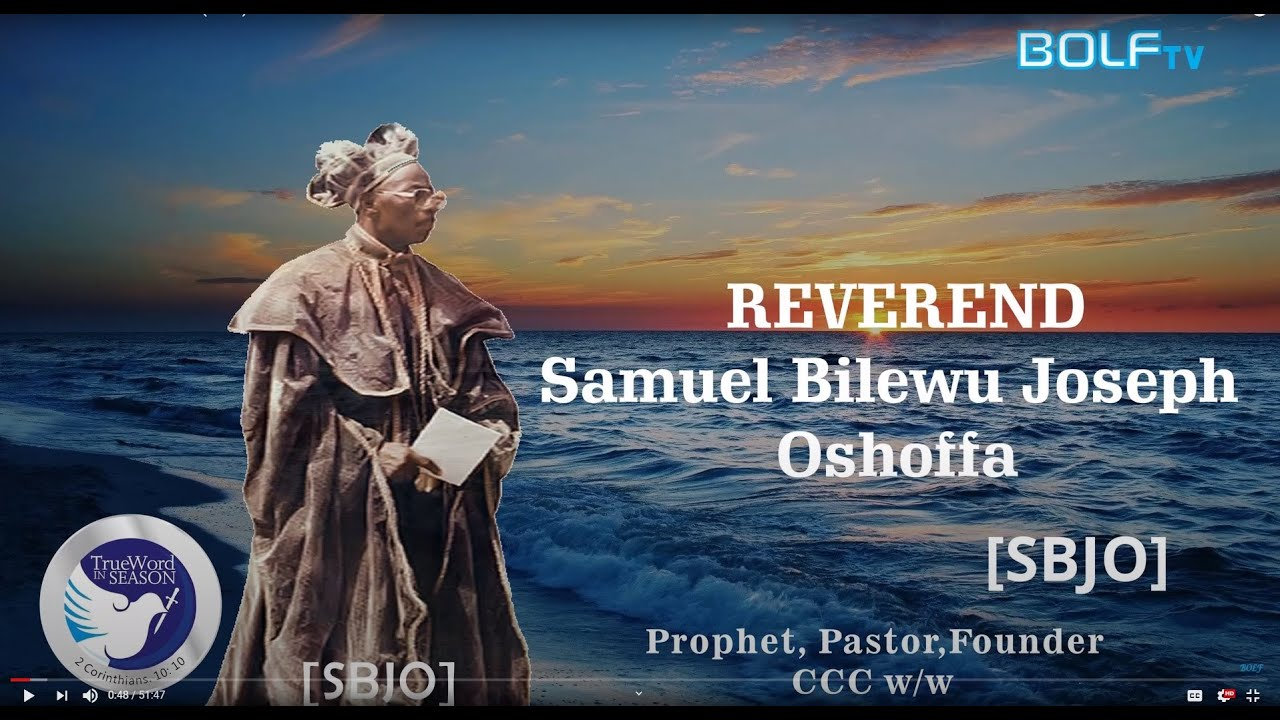 Download The Mystery Of The Sanctification Of SBJ Oshoffa(video)