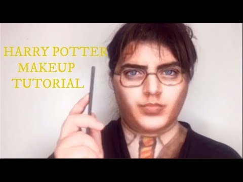 Harry Potter Makeup Transformation | Harry Potter Makeup Tutorial | Daniel Radcliffe thumbnail