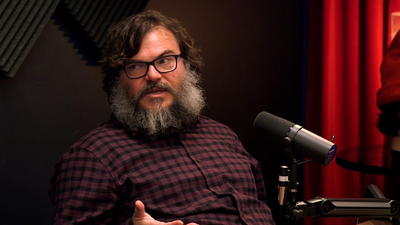 Jack Black Talks About Being Jewish - YouTube