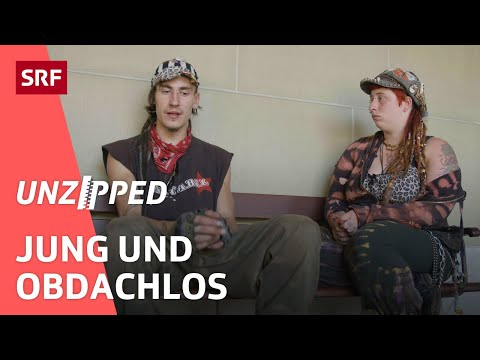 Junge Menschen auf der Strasse –Jugendobdachlosigkeit in der Schweiz   Unzipped   SRF Impact