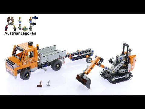 Lego Technic 42060 Roadwork Crew - Lego Speed Build Review