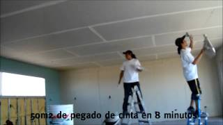 Herramienta Pegacinta (cabezal ruedita) Masillado Automático durlock-knauf