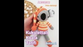 Cute Koala amigurumi crochet pattern PDF   Crochet patterns ...   180x320
