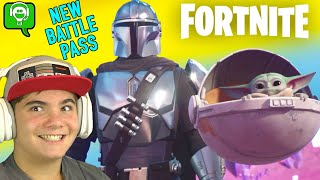 Fortnite Battle Pass Review with the Mandalorian and HobbyGaming