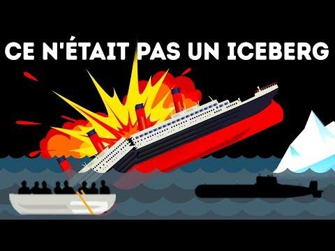 Les Survivants du Titanic Prétendent Qu'un Iceberg n'a Pas Détruit le Navire