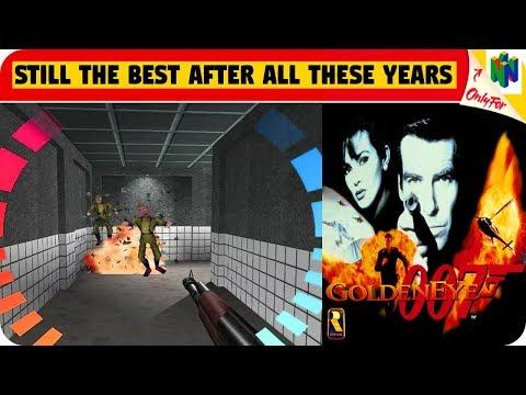 goldeneye nintendo 64 gameplay