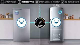 Samsung 212 L 3 Star Direct Cool Single Door Refrigerator RR22M272ZS8 Elegant Inox