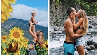 A day in our HAWAII LIFE | Sunflower fields and River Swims