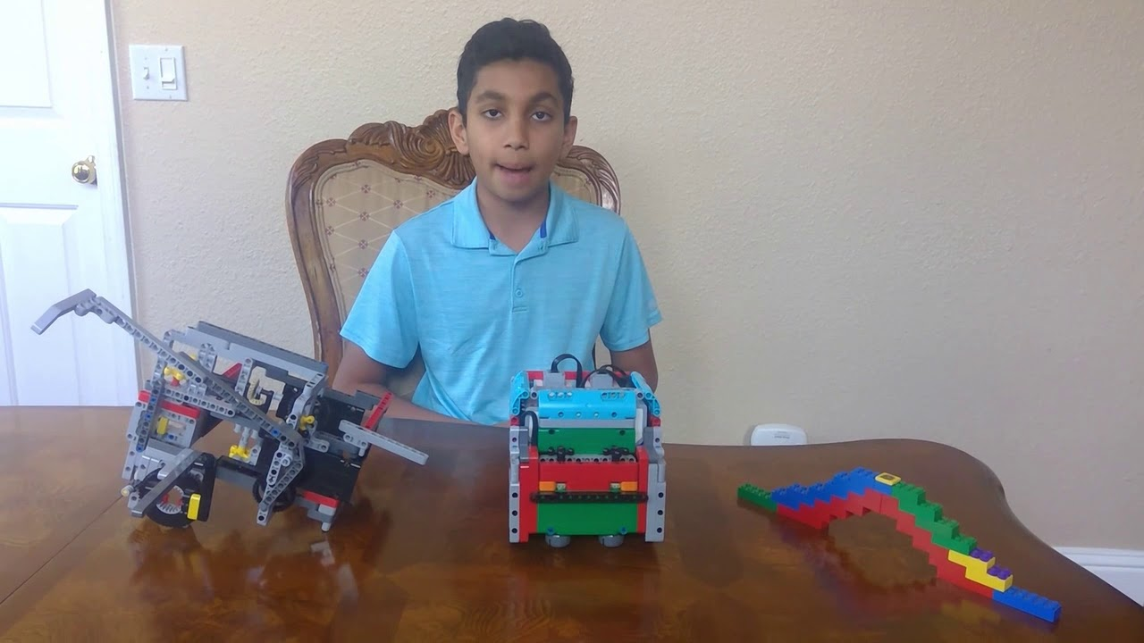 Learn Basics of Robot Design, Motors, Sensors, Attachments on our YouTube channel FLL MindBuilders