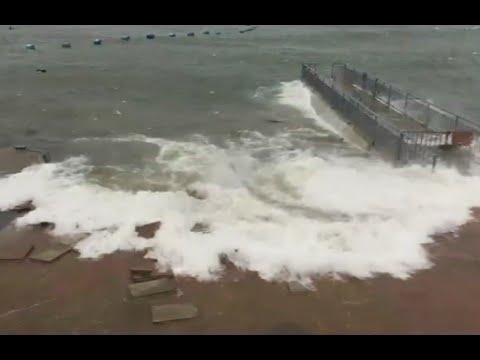 Typhoon Nida Lands on China