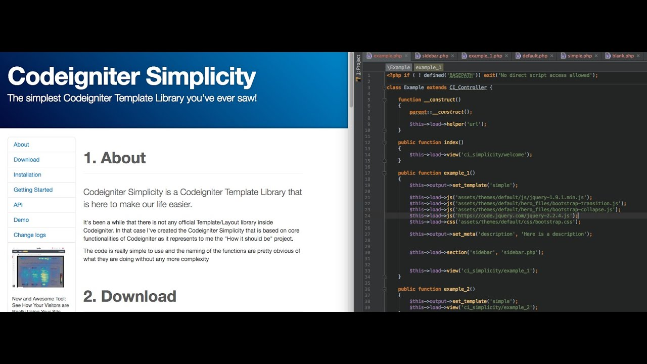 Tutorial: Codeigniter Simplicity - how to install step by step