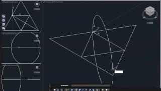 Exercício 2 - Tetraedro (Autocad 3D)