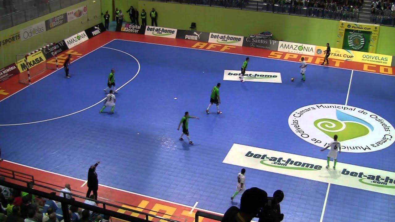 Futsal :: Uefa Elite - 2 Jogo :: Sporting - 3 x Györ (Hungria) - 1 de 2011/2012