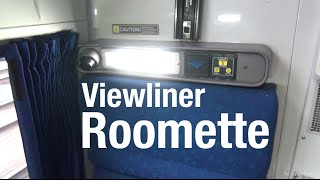 Amtrak Viewliner Roomette - Complete Tour/Review