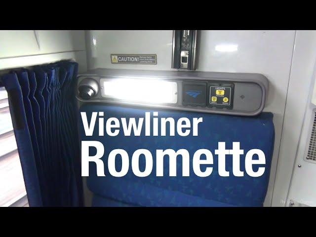 Amtrak Viewliner Roomette  Complete TourReview  clipzuicom