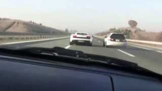 EG Civic Turbo vs LP-560 Gallardo