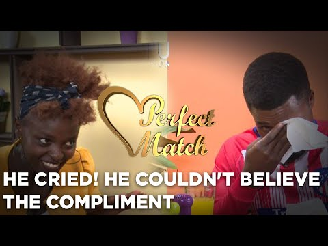 He Cried! He Couldn't Believe The Compliment From Her Date