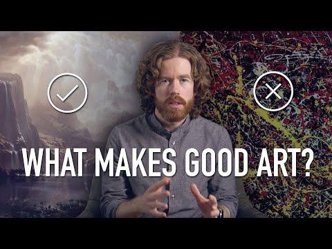 What Makes Good Art?