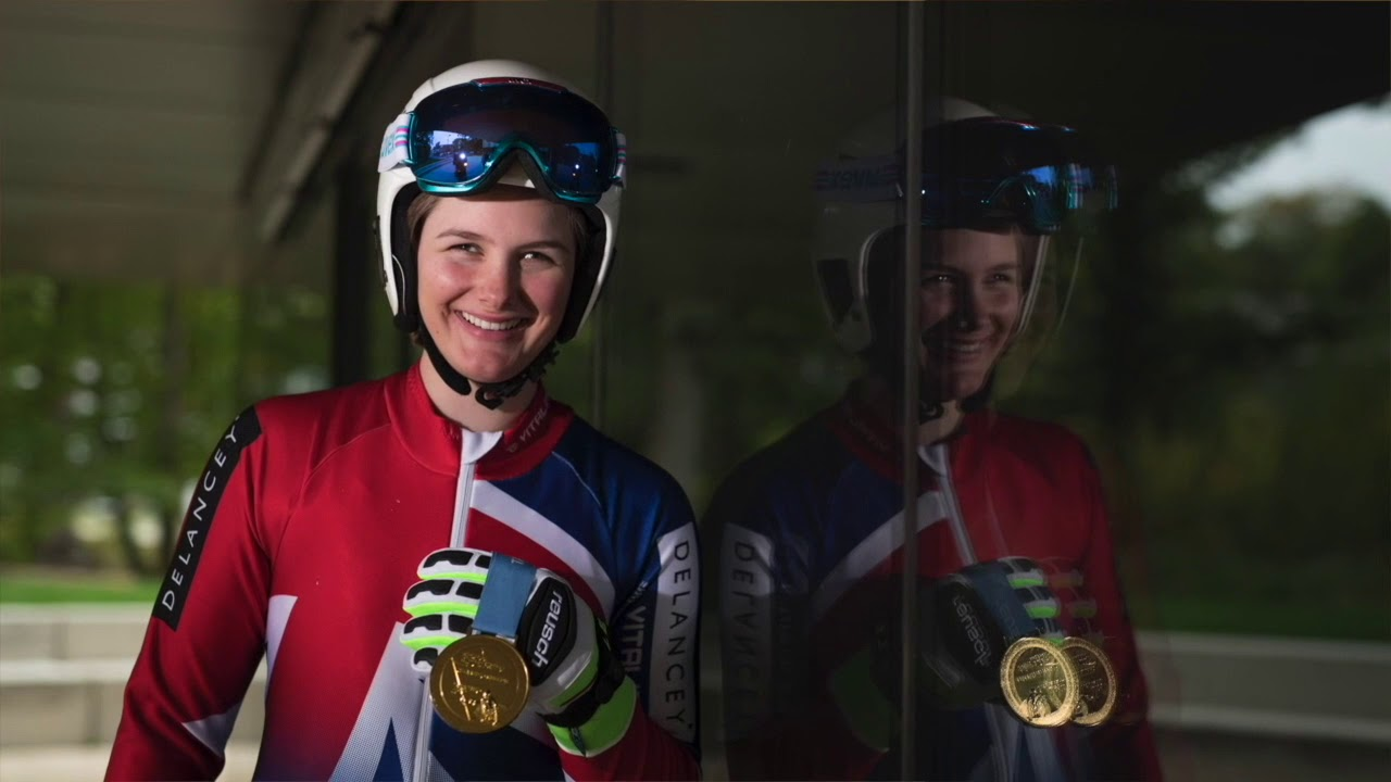 Millie Knight chats about the Winter Paralympics