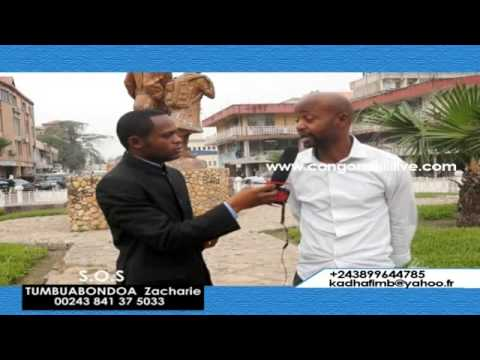 Un combattant vivant en France refoulé en RDC menotté, demande l'aide à la diaspora