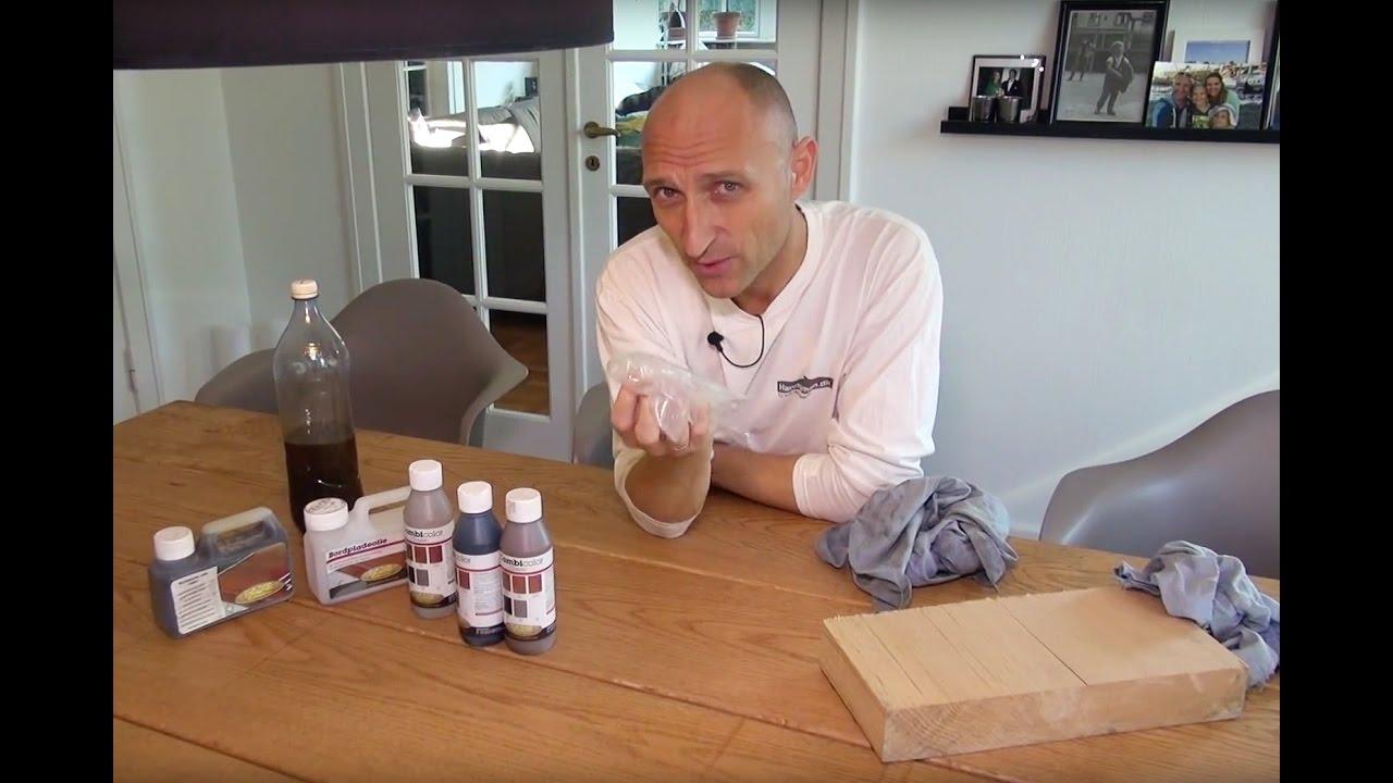 Sensationelle Oliering af bordplade - YouTube SC26