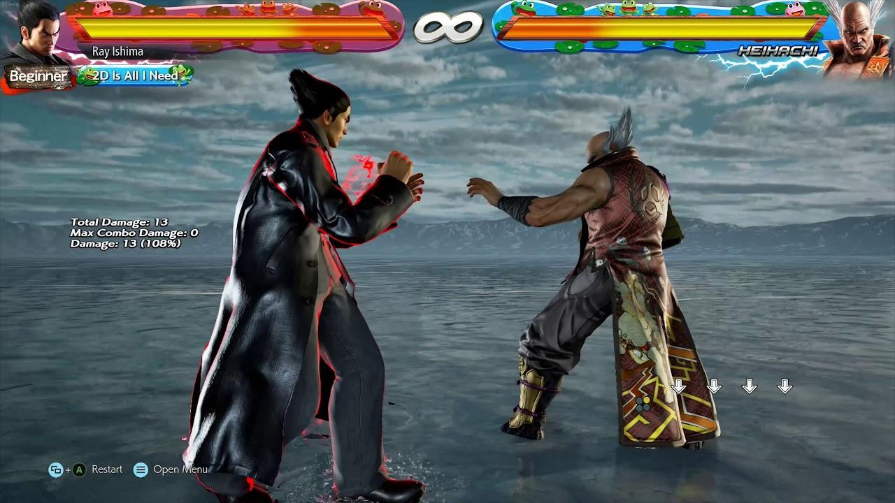 Easy Ewgf Input For Tekken 7 Pc Youtube